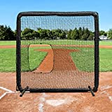 Fortress Softball Pitching Screen | Practice Pitching Safely with The Fortress Softball Protective Screen [Net World Sports]