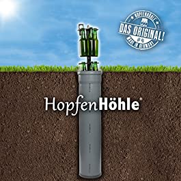 HopfenHöhle – Outdoor Erdloch Bierkühler – Made in Germany!