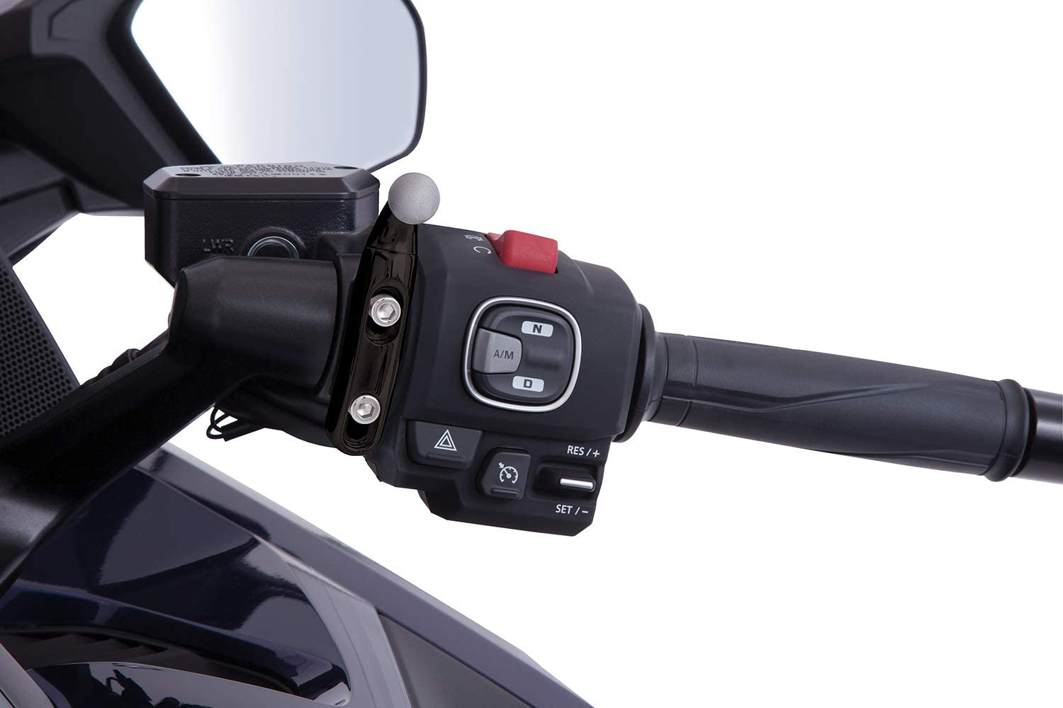 with Black Perch Mount for Gold Wing Goldstrike Drink Holder Black