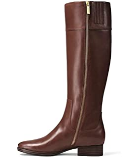 6e6be0fba199 Michael Michael Kors Womens Harland Boot Leather Closed Toe Knee High  Fashion.