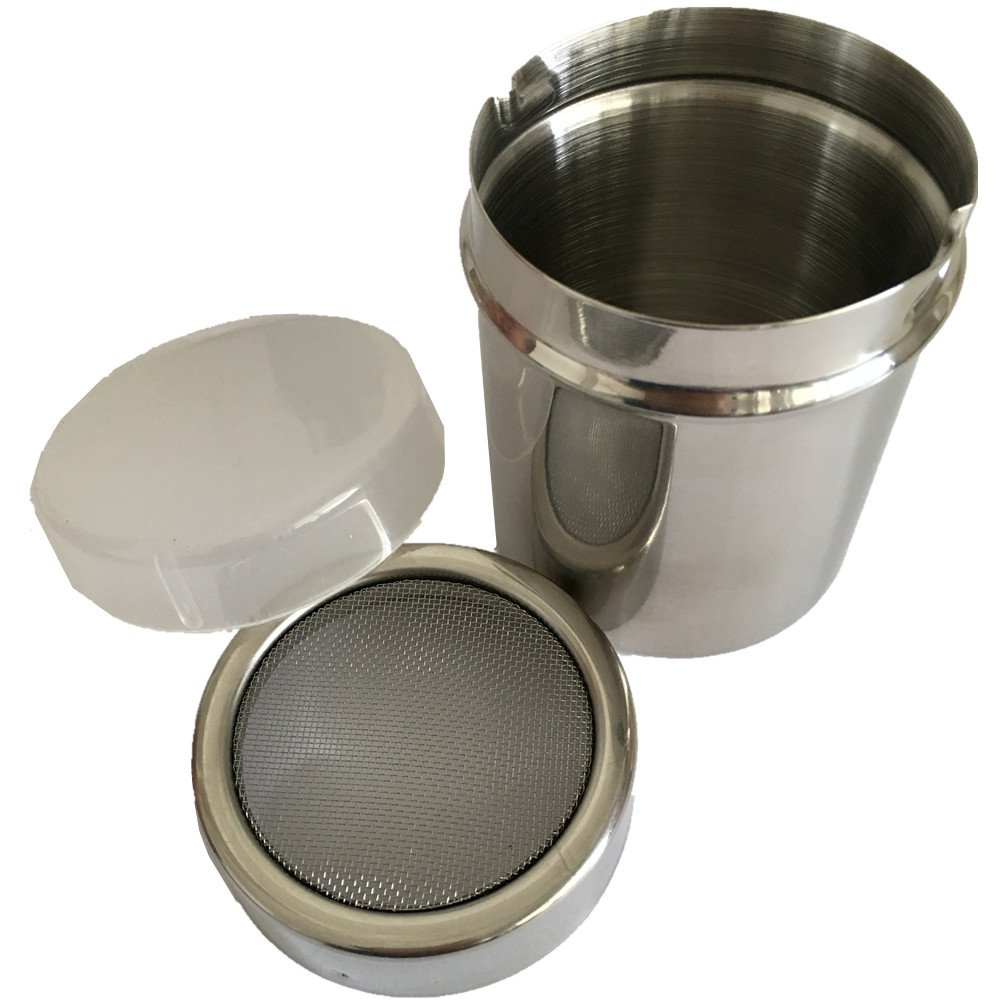 Stainless Steel Mesh Shaker with Lid - Fengbao SSMS-100