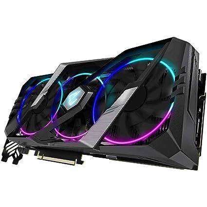 Gigabyte Nvidia RTX2080 Super Aorus 8G Fan GDDR6 DP/HDMI PCI Express Tarjeta gráfica