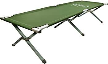#9 VIVO Cot, Green Fold up Bed, Folding, Portable for Camping