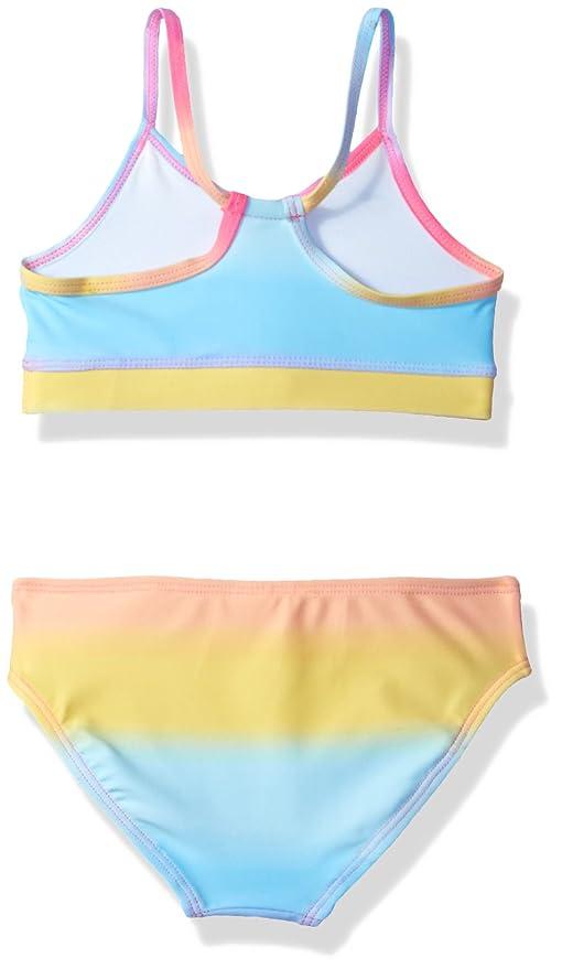 bda483f1ac Amazon.com: The Children's Place Girls' 3-Piece Rashguard Swim Set: Clothing