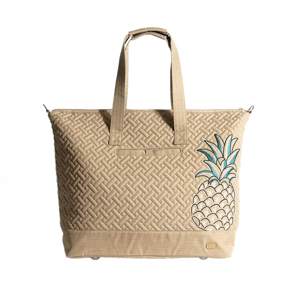 Lug Women's Aerial Tote, Pineapple Travel, One Size
