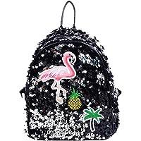 Women Girls Sequins Mini Backpack School Satchel Travel Shoulder Bag Rucksack