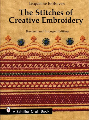 The Stitches of Creative Embroidery - Stitch Delight Embroidery Designs