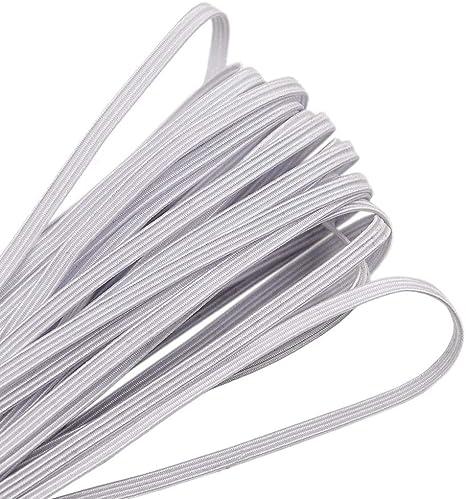 10 yards Black Elastic Thin Band Cord Fibre Craft Thread Stretch String Sewing