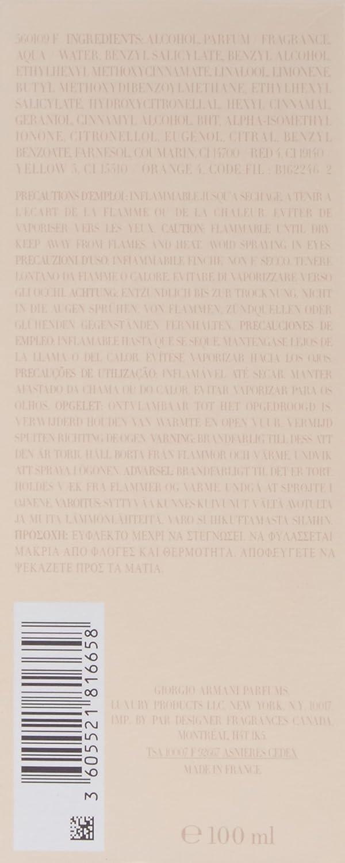 Giorgio Armani - Si - Eau de parfum para mujer - 100 ml: Amazon.es: Belleza