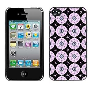 ZECASE Funda Carcasa Tapa Case Cover Para Apple iPhone 4 / 4S No.0003295