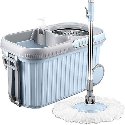 DUNBU La Fregona,Clean Grado Spinning Mop Bucket Cucharón ...