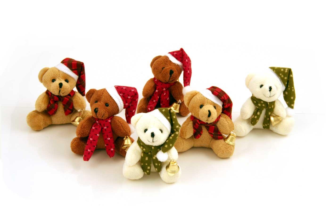 6 Teddy Bear Christmas Crackers: Amazon.co.uk: Kitchen & Home