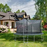 Furinno FT11180 15' Trampoline with 6 Leg 6 Poles