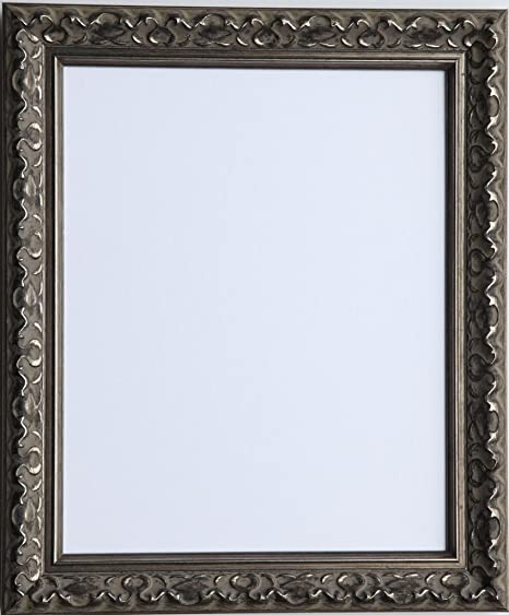 TAILORED FRAMES-VIENNA SILVER, VINTAGE ORNATE SHABBY CHIC PICTURE ...