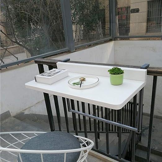 Ailj Wand Bodentisch Balkon Hangetisch Gelander Metall Aluminium