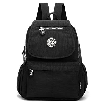 4a834fbc51 Women s Small Handbag Nylon Shoulder Bag Casual Day Pack Multi-Pocket  Casual Waterproof Nylon Bags