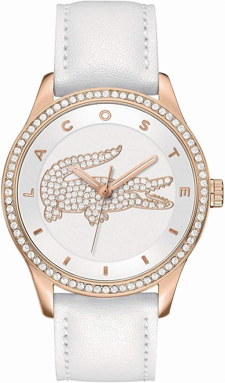 Lacoste Reloj para Mujer de Cuarzo con Correa en Cuero 2000821