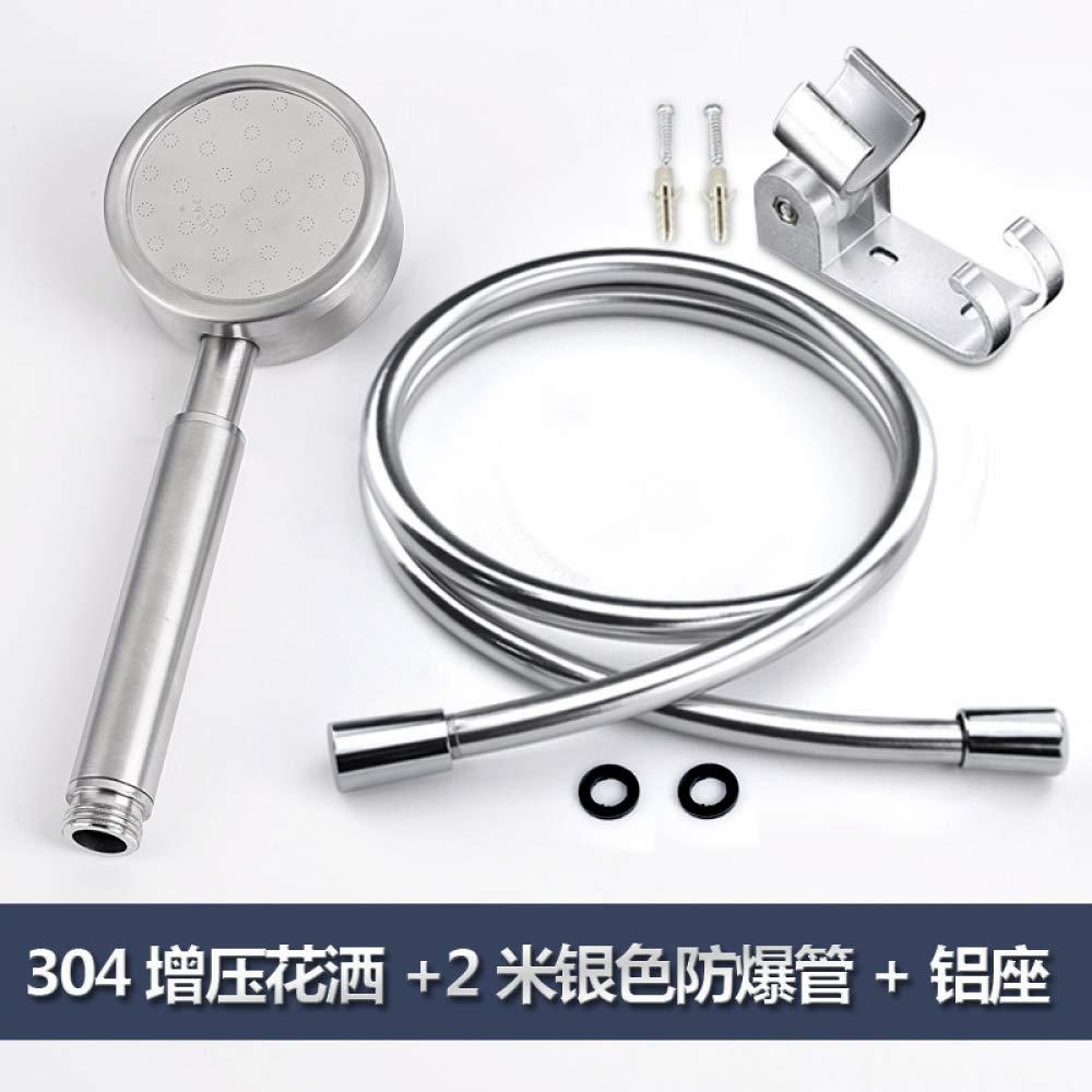 10 LanMiu 304 stainless steel shower head nozzle pressurized large water bath umbrella water heater bath flower shower head-14