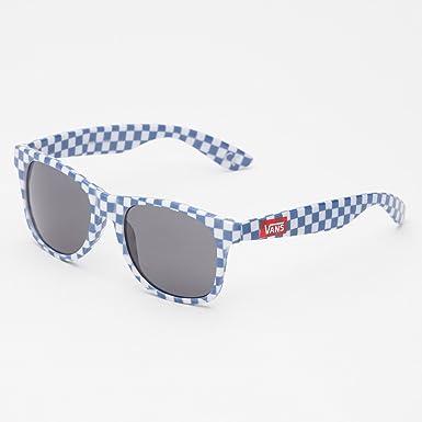 02e27daf77 Vans Spicoli 4 Shades Sunglasses Checkerboard Classic Blue blue Classic  blue checkerboard Size One size