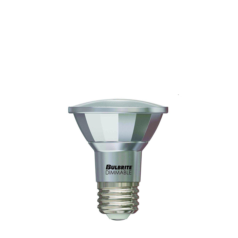 Bulbrite LED7PAR20/NF25/830/WD 50W Halogen Equivalent - Medium (E26) Base - Narrow Flood - 7W Dimmable Wet Rated Outdoor/Indoor LED PAR20 Reflector Bulb, Soft White