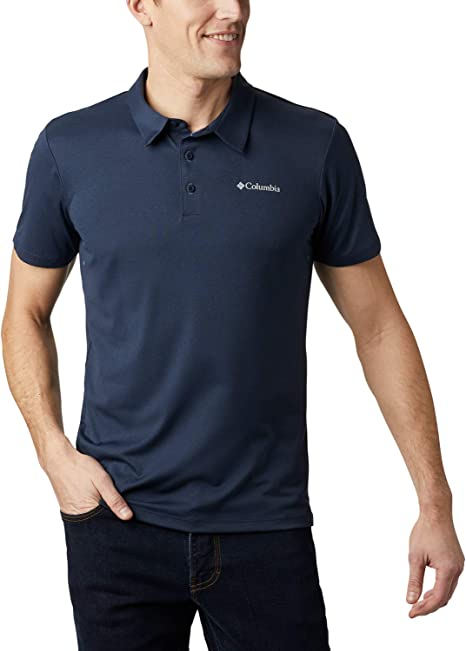 Mens Sun Ridge Polo T-Shirt (Navy,2XL)