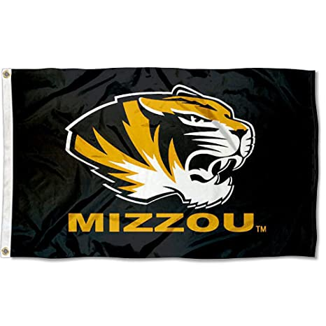 official photos 6168d 947d8 Amazon.com   Missouri Tigers Mizzou University Large College Flag   Outdoor  Flags   Sports   Outdoors