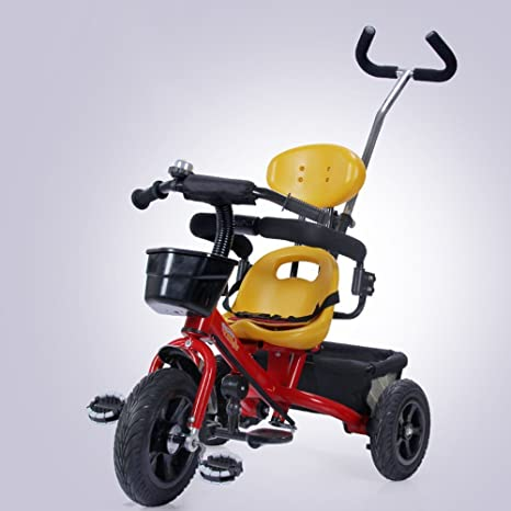 DACHUI Carrito de bebé, niño, niños inflables bicicleta ...
