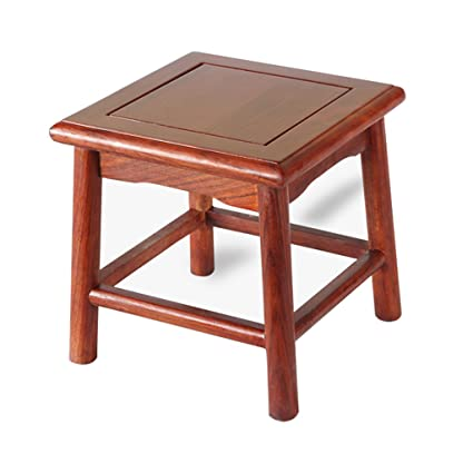 Wood Stools Solid Wood Square Stools Small High Benches Home Benches Dining Table Stools Mahogany Wooden Stools Rectangular Stoo Furniture