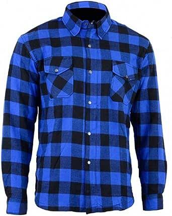 Bikers Gear Australia - Camisa protectora de franela para ...