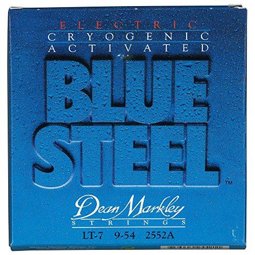 Dean Markley 7-String Blue Steel Electric Guitar Strings, 9-54, 2552A, (Steel 7 String Electric Guitar)