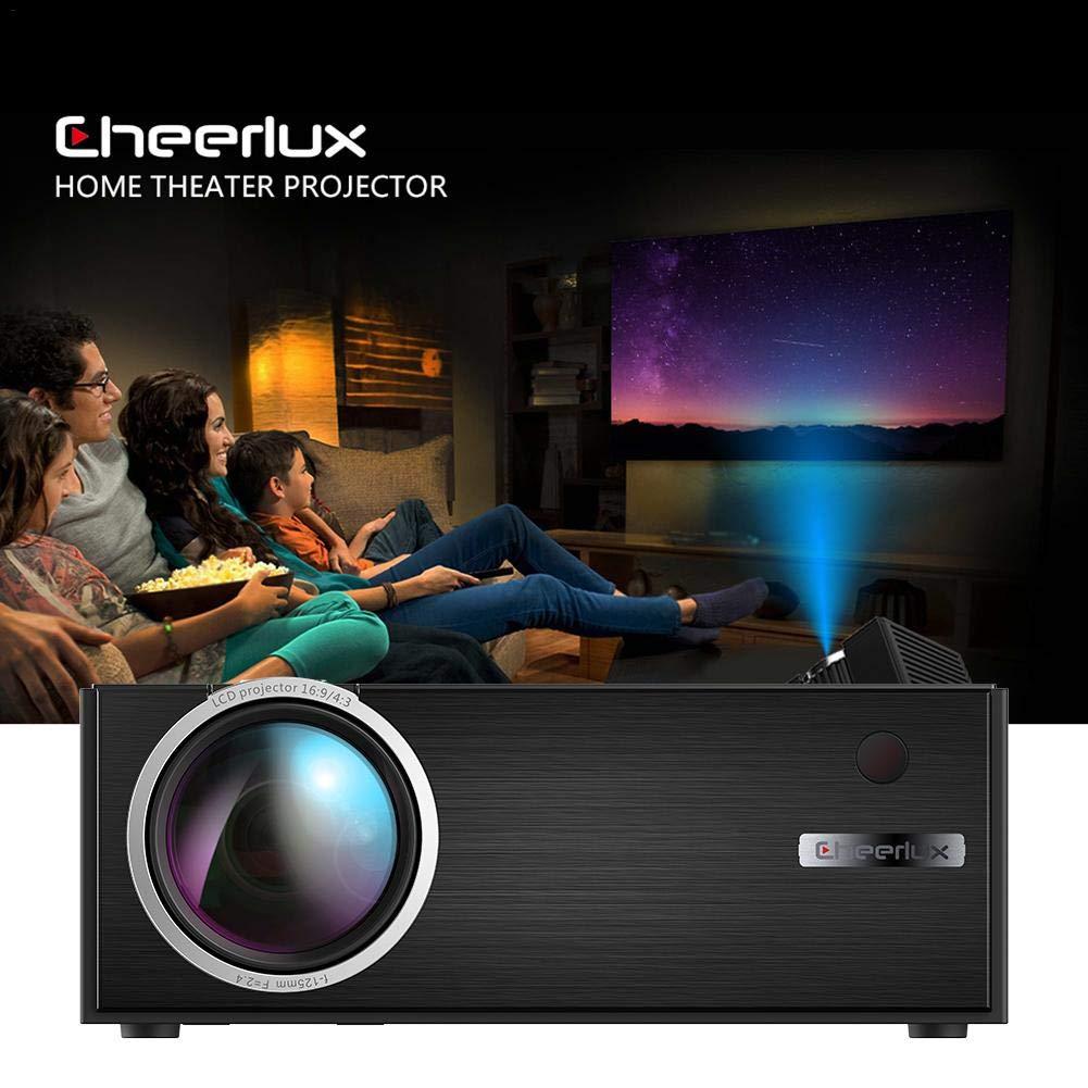 kelihood Mini proyector 1080P 3D HD Proyector LED Negro C7 ...