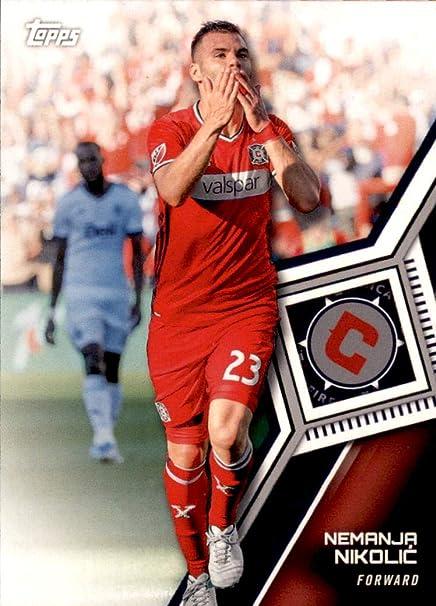 release date: cf554 02c90 2018 Topps MLS Soccer Trading Card #27 Nemanja Nikolic ...