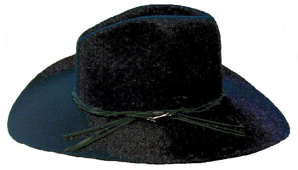 562835e60aab4 Stetson Gus Black Hat Beaver Fur at Amazon Men s Clothing store