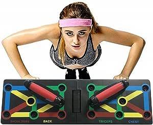 Tabla de dominadas 12 en 1, soporte de ejercicios para ...