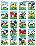 Teacher Created Resources Farm Stickers, Multi Color (5738)