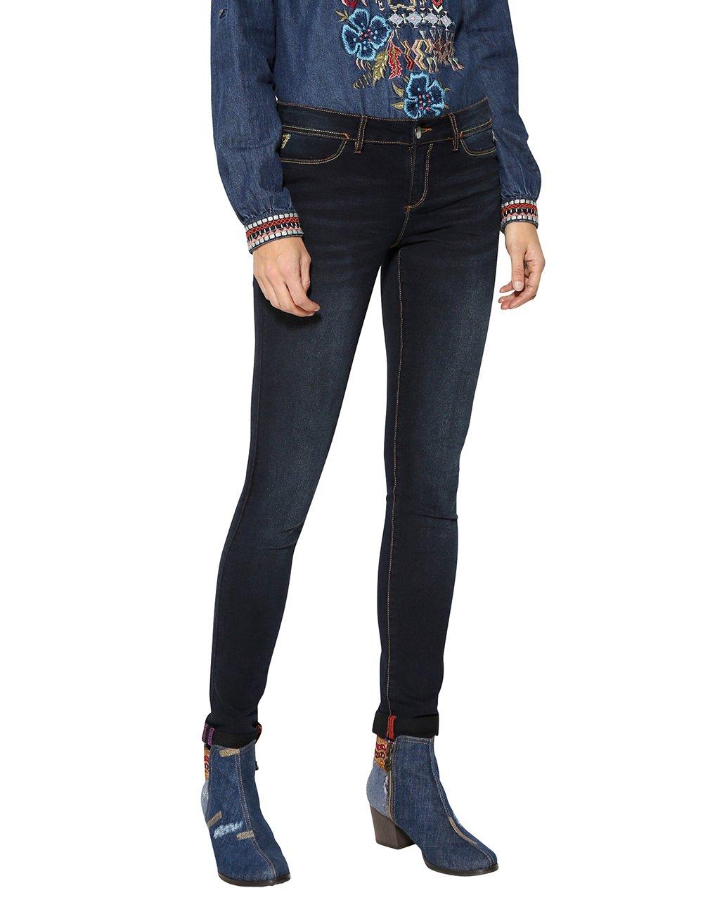 Desigual Denim_Second Skin Jeans Ajustados para Mujer product image