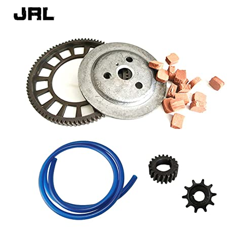 jrl embrague Big Bevel Gear almohadillas de fricción & Push Bike Gear para 49/66