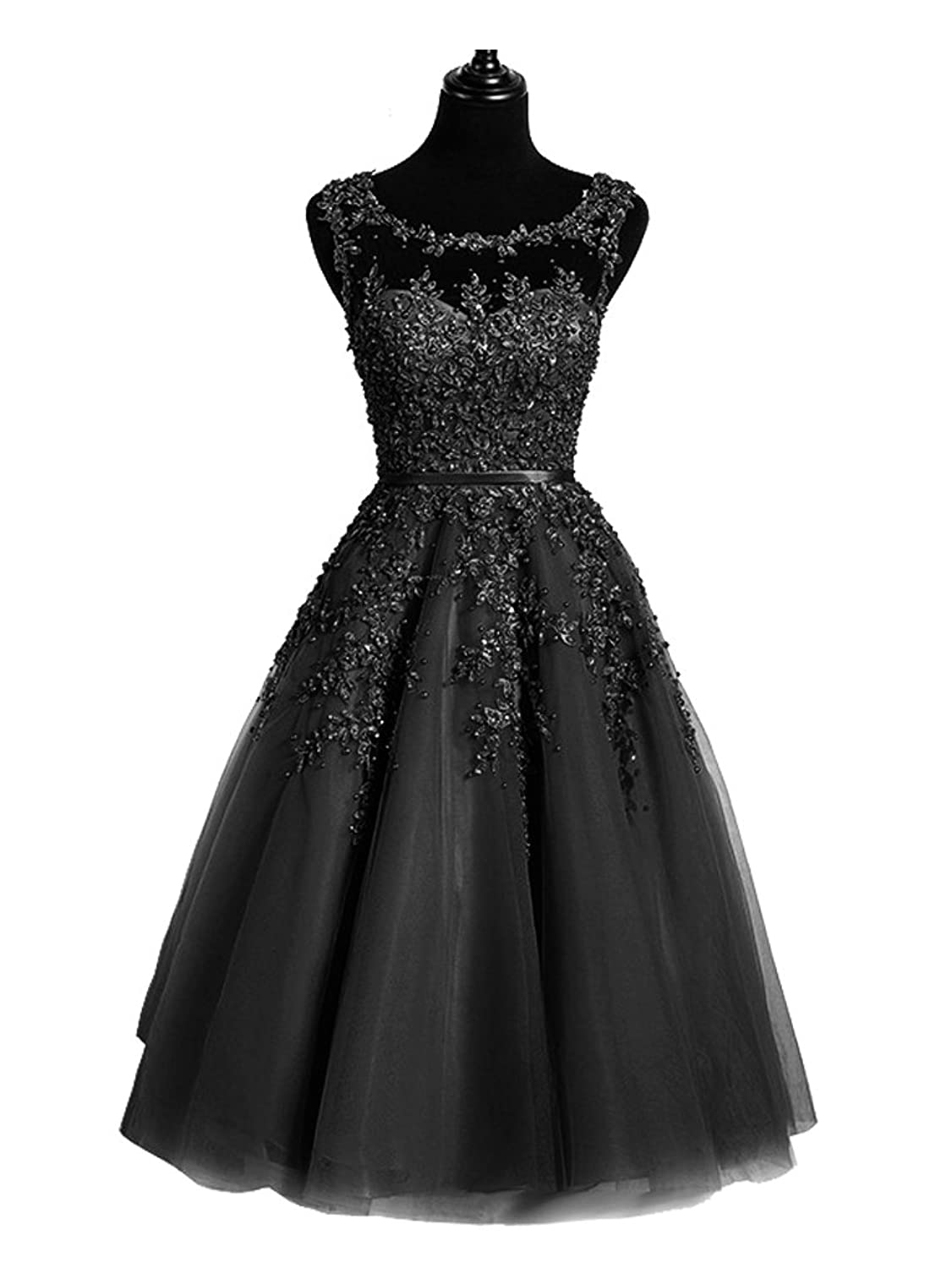 21aa5dcc4b The A line short lace gown is shine, glitter, elegant, vintage, formal,  fashion. 2017 the dresses have a clearance sale now for women.