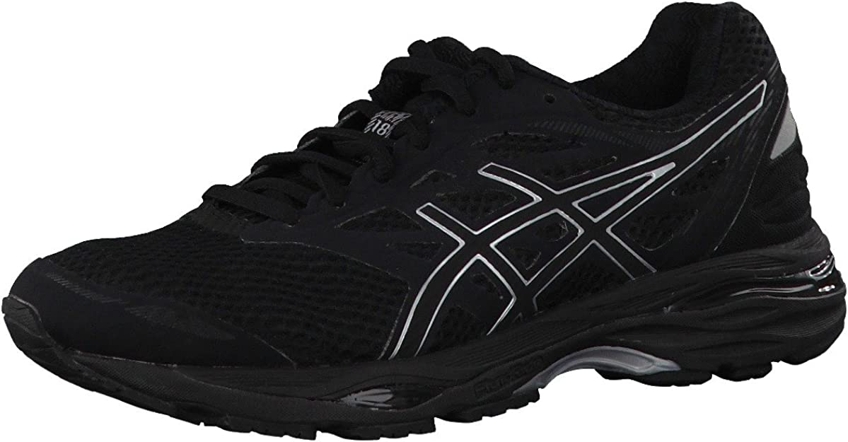Asics - Gel-Cumulus 18 - Zapatillas Neutras - Black/Silver: Amazon.es: Zapatos y complementos