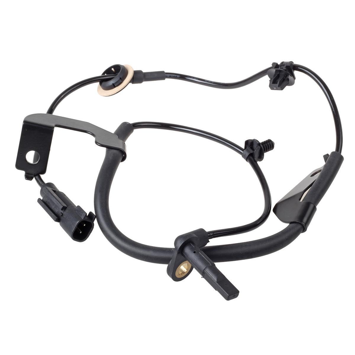 AUTEX 2pcs ABS Wheel Speed Sensor Front Left Front Right 5105573AA 5105572AA ALS2088 ALS2084 compatible w// 2007-2015 Jeep Compass 2.0L 2.4L 2007-2014 Jeep Patriot 2.0L 2.4L 2007-2012 Dodge Caliber