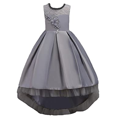 Vestido De Fiesta Para Niñas Vestido De Dama De Honor De Fiesta De Princesa Formal Vestido De Niña De Las Flores Fiesta De Cumpleaños De Los Niños