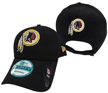 Washington Redskins New Era 9Forty NFL  quot The League Black quot   Adjustable Hat 398c18c55c3
