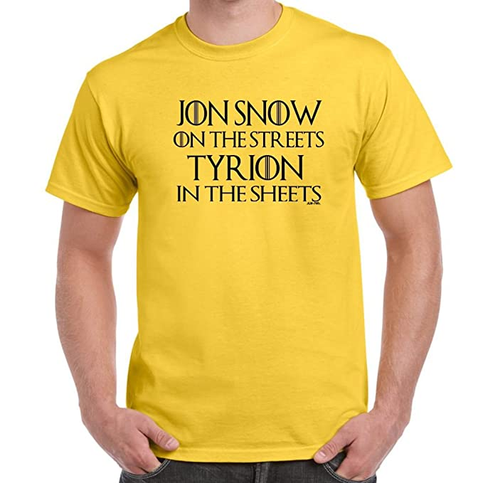 Herren Lustige Spruche Coole Fun T Shirts Jon Snow Tyrion Game Of