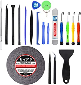 MMOBIEL 21 in 1 Professional Premium Repair Kit Screwdriver Tool Set for Smartphones Tablets and Multimedia Notebooks