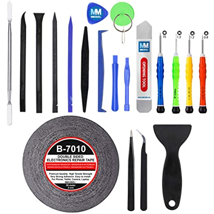 MMOBIEL 21 in 1 Professional Repair Opening Tool Kit Screwdriver set for  Smartphones and Multimedia Notebooks