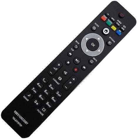 allimity TV 996510023587 mando sostituito apto para Philips 42PFL5604/60 42PFL7404H/60 47PFL7404H/12 47PFL7864H/12 52PFL7404H/60 32PFL7404H/12 52PFL7404H/12 32PFL7404H/60 42PFL7404H/12: Amazon.es: Electrónica