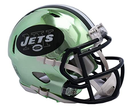 Image Unavailable. Image not available for. Color  Riddell NEW YORK JETS NFL  Revolution SPEED Mini Football Helmet d1afbd65a