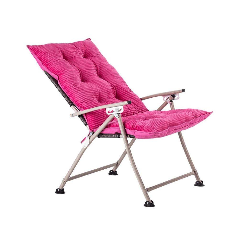 QZ HOME Stühle, Moderner Minimalismus Weich Und Bequem Stoff + Baumwolle Passend Für Viele Gelegenheiten, Faltbarer Beweglicher Freizeitstuhl
