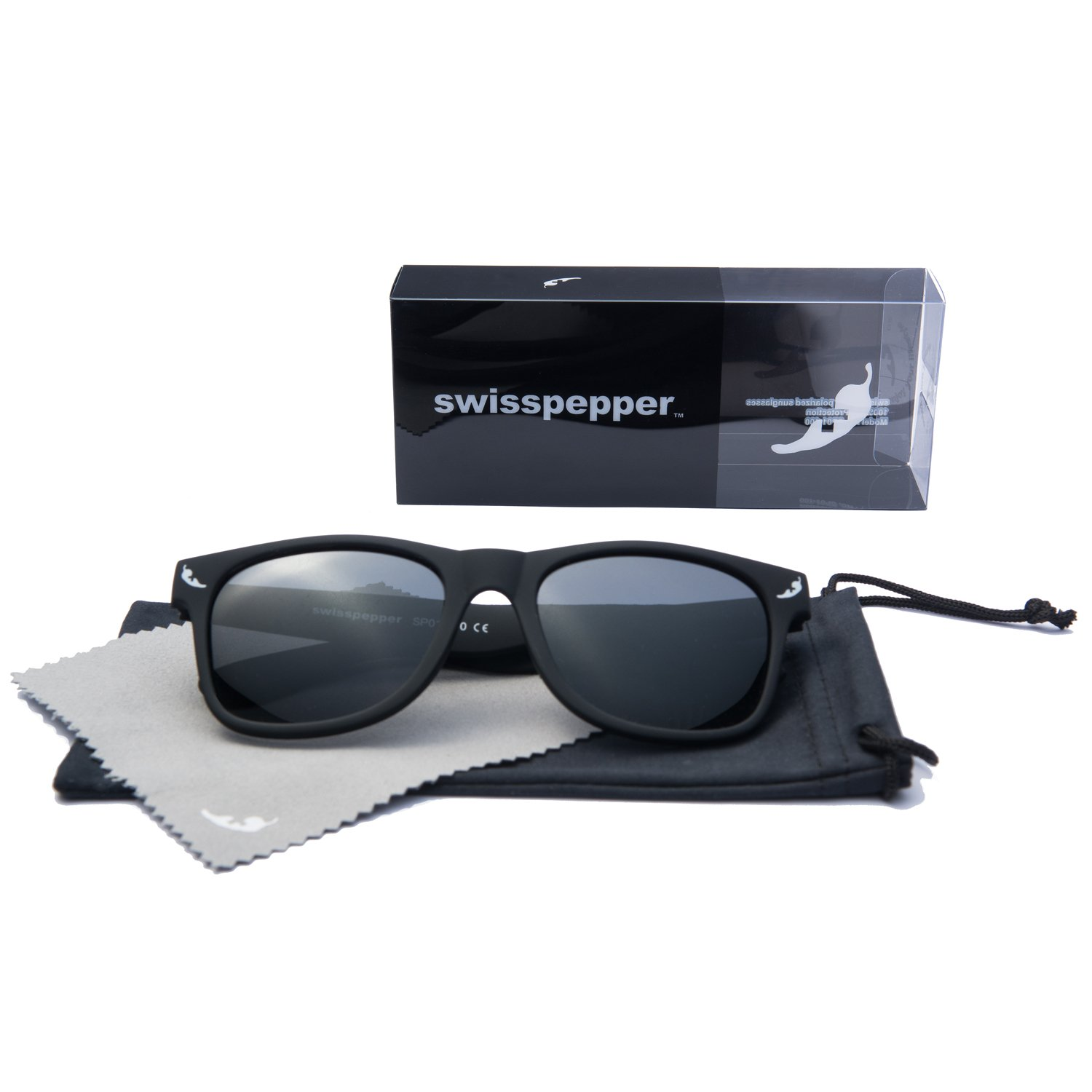 859c9117d8 swisspepper Polarized Designer Fashion Sunglasses for Men Women ...