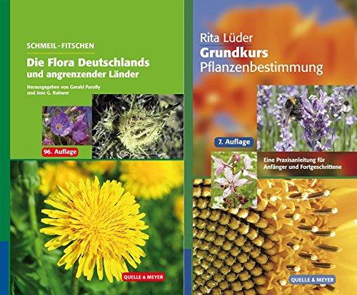 SCHMEIL-FITSCHEN Die Flora Deutschlands und angrenzender Länder 96. Auflage + R. Lüder: Grundkurs Pflanzenbestimmung 7. Auflage: Set